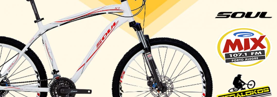 A Mix e a Pedalokos vão te dar duas bikes no mês dos Pais!