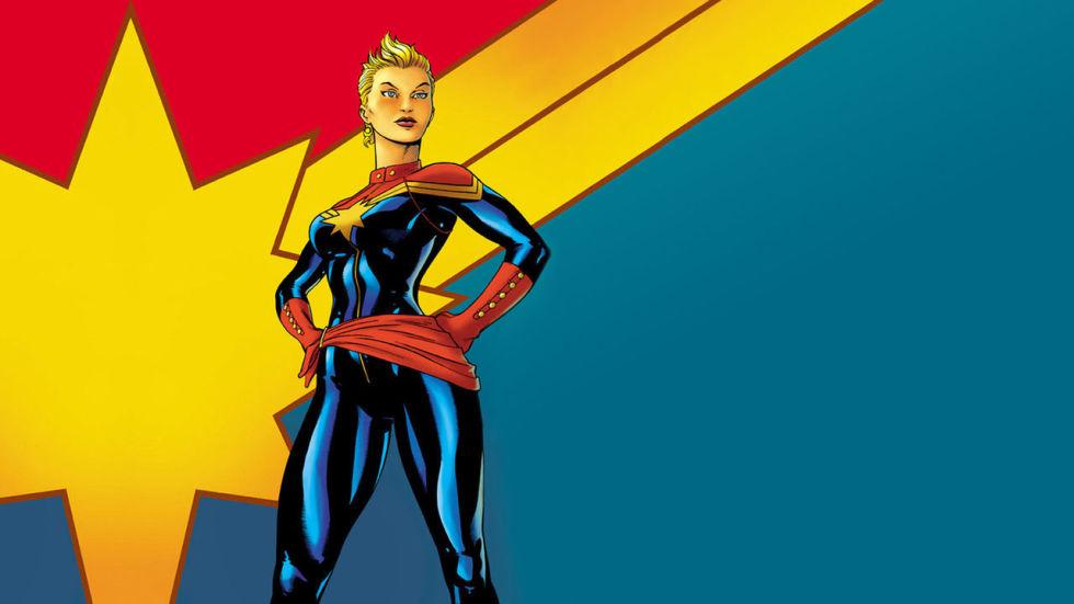 Filme da Capitã Marvel será gravado em 2018