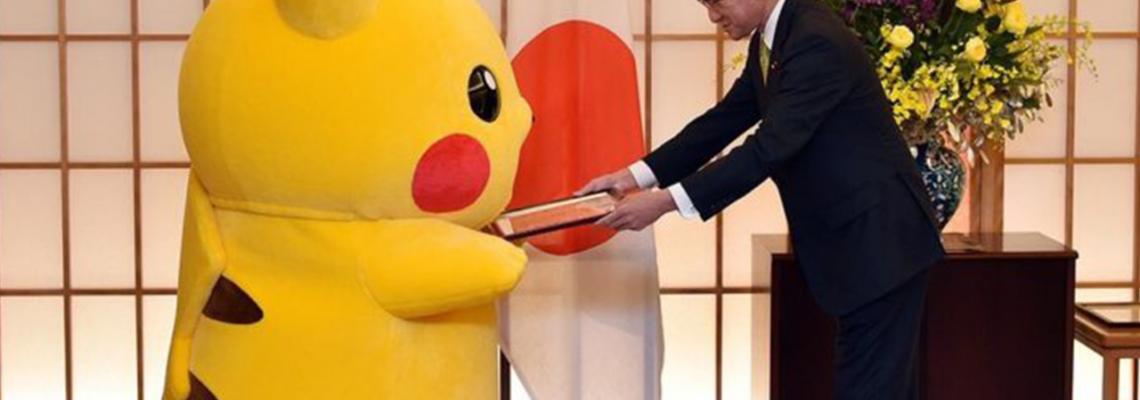 Pikachu e Hello Kitty são, oficialmente, embaixadores de Osaka