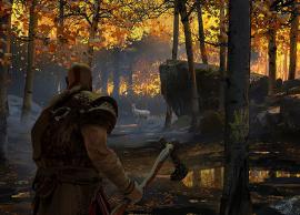 God of War é o grande lançamento de 2018 e traz história de Atreus, filho de Kratos