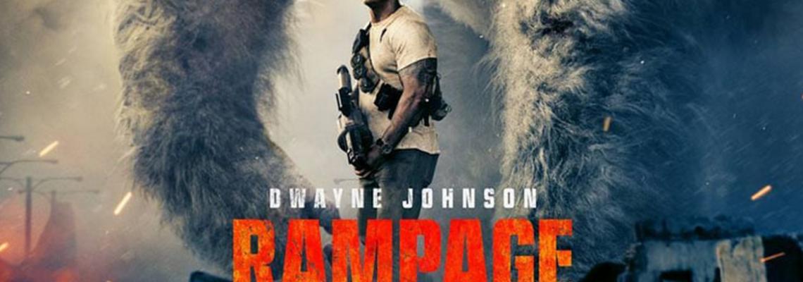 Rampage: Destruição total é o novo filme de The Rock