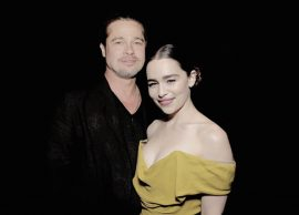 Brad Pitt perde Emilia Clarke em leilão