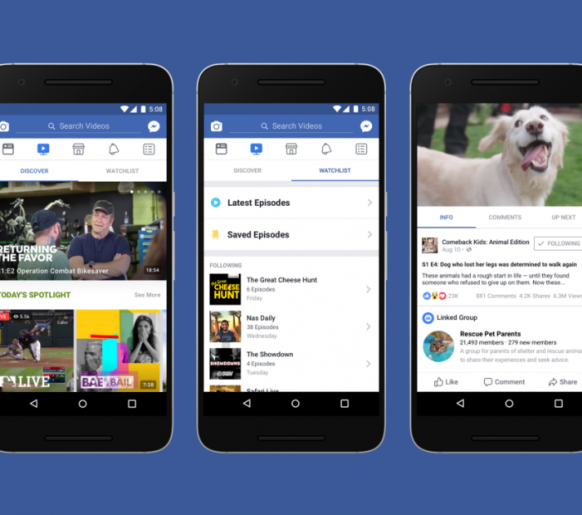 Conheça o Facebook Watch, a futura concorrente do Youtube