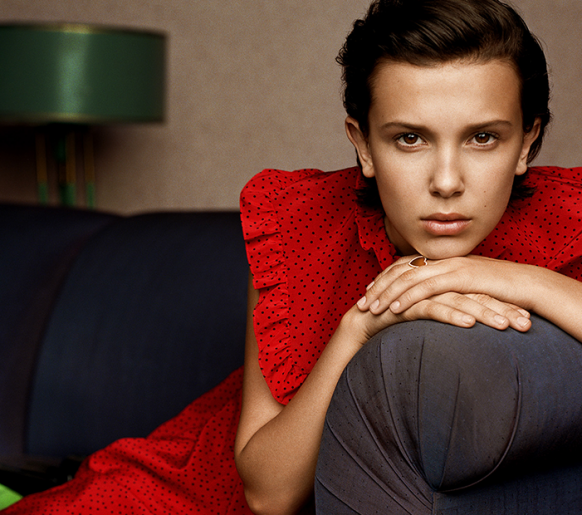 Millie Bobby Brown entre as 100 pessoas mais influentes do mundo